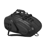 Tennistasche Wilson Tour V 15 Pack Black Edition