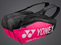 Tenisový bag Yonex Pro 6 série 9826 růžový