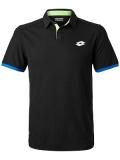 Tenisové tričko Lotto Aydex IV Polo T1829 černé