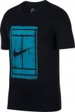 Tennis T-Shirt Nike Court Tee 913501-010 schwarz