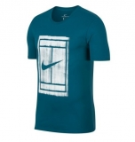 Tennis T-Shirt Nike Court Tee 913501-301 blau