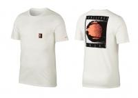 Tennis T-Shirt Nike Court Challenge T-Shirt AO7372-133 weiss