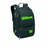 Tennisrucksack Wilson Tour V Medium schwarz grün