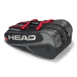 Tennistasche Head Elite 12R Monstercombi schwarz