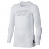 Termo T-Shirt Nike Pro Compression 858232-100 weiss