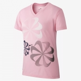 Mädchen Nike  Trainings-T-Shirt 923639-654 pink