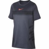 Dětské tenisové tričko Nike Court Dry Rafa Tee AO2959-011 šedé
