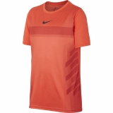 Kinder Tennis T-Shirt Nike Court Dry Rafa Tee AO2959-809 orange