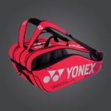 Tenisový bag Yonex Pro 9 série 9829 červený