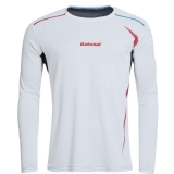 Tennis T-Shirt Babolat LS Match Perform 40S1545 weiss