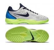 Herren Tennisschuhe Nike Air Zoom Cage 3 HC 918193-004 - allcourt