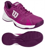 Kinder Tennisschuhe Wilson RUSH Pro Junior 2.5 pink