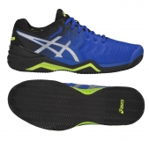Tennisschuhe Asics Gel Resolution 7 Clay E702Y-407 blau