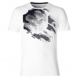 Tennis T-Shirt Asics Practise Graphic SS 2041A048-100 weiss