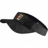 Tenisový kšilt NikeCourt AeroBill Heritage86 Visor AV7000-010 šedý