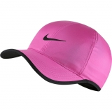 Damen Tenniskappe Nike Featherlight DriFit Hat 679421-623 pink