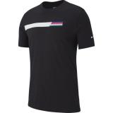 Tenisové tričko Nike Court Tee AO1140-010 černé