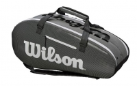 Tennistasche  Wilson SUPER TOUR 2 Comp Large grau