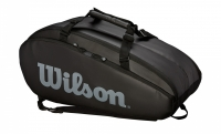 Tennistasche Wilson TOUR 2 Comp Large schwarz