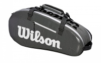 Tennistasche  Wilson SUPER TOUR 2 Comp Small grau