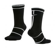 Tennissocken NikeCourt Essentials Crew Tennis Socks SX6913-014 schwarz