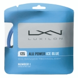 Tennissaite Luxilon ALU Power 12 m ice blue - Saitenset