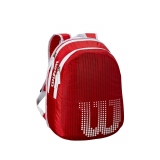 Kinderrucksack Wilson Match JR Backpack rot