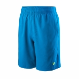 Kinder Tennis kurzekose Wilson Team 7 Short WRA767404 blau