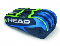 Tennistasche Head Elite 9R Supercombi 2019 blau