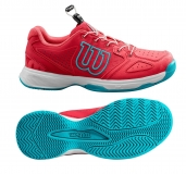 Dětská tenisová obuv Wilson Kaos JR QL WRS325430 růžová