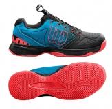 Dětská tenisová obuv Wilson Kaos JR WRS325440 modro-černé