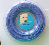 Tennissaite Luxilon SAVAGE 127 blau- Saitenrolle