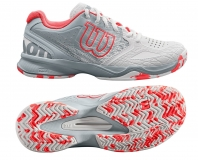 Dámská tenisová obuv Wilson Kaos Comp WRS323900 bílá