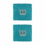 Tennis Schweissband Wilson Wristband klein blau