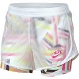 Dívčí kraťasy Nike Printed Shorts AQ9173-100