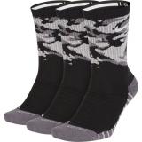 Tennissocken Nike Dry Cush Camo Crew SX7630-010 schwarz
