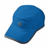 Tennis Kappe Wilson Seasonal Cooling Cap blau