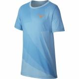Kinder Tennis T-Shirt Nike Court Dry Rafa Tee AR2384-433 blau
