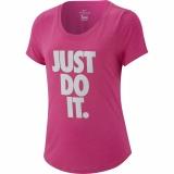 Dívčí tréninkové tričko Nike Dri-Fit AR5087-686 růžové