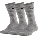 Kinder Tennissocken Nike dri-fit Cushioned Crew SX6842-063 grau
