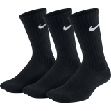 Kinder Tennissocken Nike dri-fit Cushioned Crew SX6842-010 schwarz