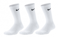 Kinder Tennissocken Nike dri-fit Cushioned Crew SX6842-100 weiss