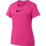 Dívčí tričko Nike Pro T-Shirt AQ9035-686 růžové