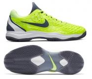 Herren Tennisschuhe Nike Air Zoom Cage 3 Cly 918192-701 neon gelb
