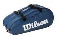 Tenisový bag Wilson TOUR 3 COMP modrý