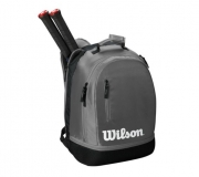 Tennisrucksack Wilson Team Backpack grau