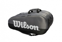 Tennistasche Wilson Team 3 Comp grau