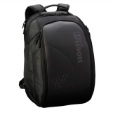 Tennisrucksack Wilson Federer DNA Backpack schwarz