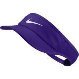 Tenisový dámský kšilt NikeCourt Aerobill Tennis Visor 899656-550 fialový