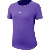 Dívčí tenisové tričko Nike Court DriFit  AR2348-552 fialové